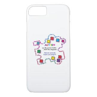 Autismus-Puzzlespiel-Stück iPhone 8/7 Hülle