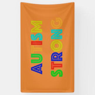 Autismus-starke Fahne Banner
