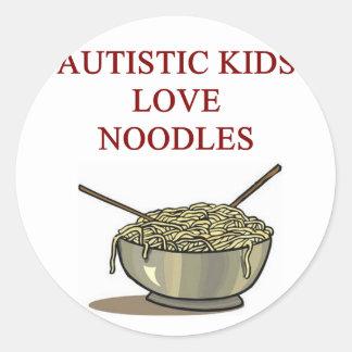 Autismusbewusstseinsentwurf welche autistische Kin Aufkleber