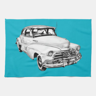 Auto-Illustration 1948 Chevrolets Fleetmaster Handtuch