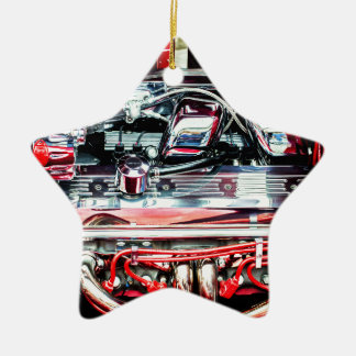 Auto-Motor Keramik Ornament