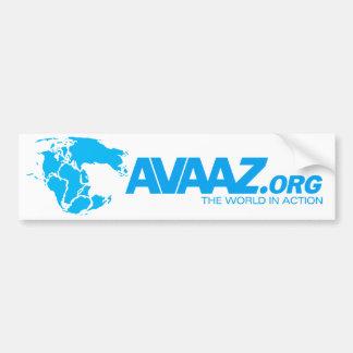 Autoaufkleber Avaaz.org Pangea