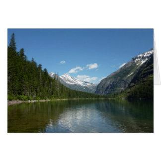 Avalanche See I im Glacier Nationalpark Karte
