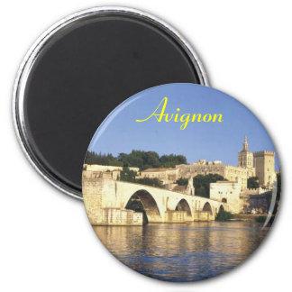 Avignon-Magnet Runder Magnet 5,7 Cm