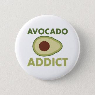 Avocado-Süchtiger Runder Button 5,1 Cm