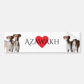 Azawakh Autoaufkleber