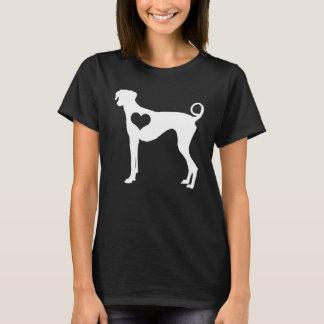 Azawakh Herz-Dunkelheits-T - Shirt