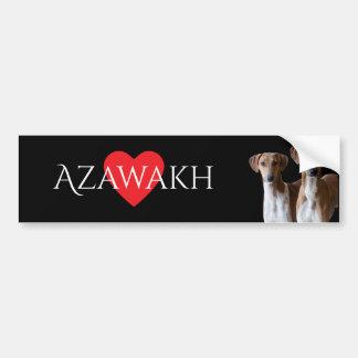Azawakh Zucht-Autoaufkleber Autoaufkleber