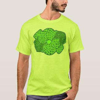 Aztekischer Schlangen-Gott-Entwurfs-T - Shirt