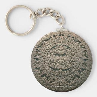 """Aztekischer """"Sun-Kalender,"""" Mexiko City Schlüsselanhänger"""