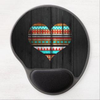 Aztekisches Herz Gel Mouse Pad