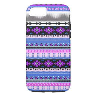 Aztekisches Lila u. Pflaume iPhone 8/7 Hülle