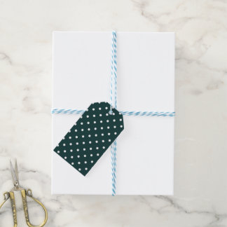 Azul Verde Tupfen Geschenkanhänger