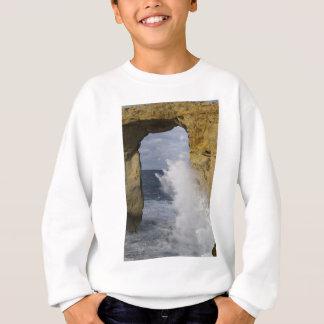 Azurblaues Fenster Sweatshirt