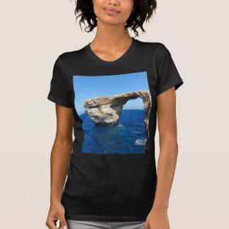 Azurblaues Fenster T-Shirt