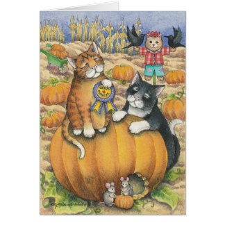 B u. Anmerkung T #22 Halloween Mitteilungskarte