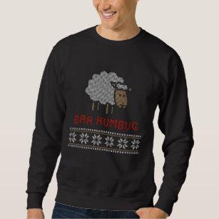 Baa Humbug Weihnachtsschaf Sweatshirt