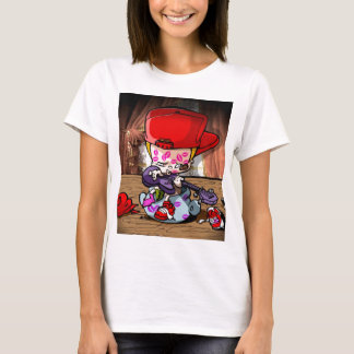 Baby-angesagter HopfenPop T-Shirt