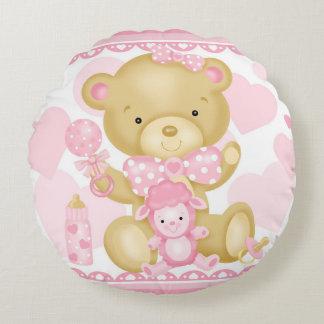 Baby-Bärn-rundes Kissen
