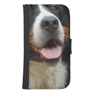 Baby Bernese Gebirgshund Galaxy S4 Portmonees
