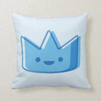 Baby-Blau-Krone Kissen