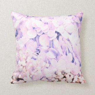 Baby-Blauhydrangea-Blumen-Dekorkissen Kissen