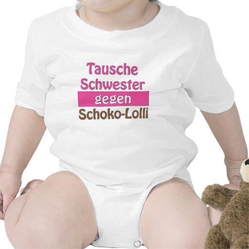 """Baby Body """"Tausche Schwester gegen Schoko-Lolli"""""""
