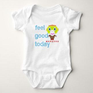 Baby-Bodysuit-    Gefühl-guter heutiger Tag durch Baby Strampler