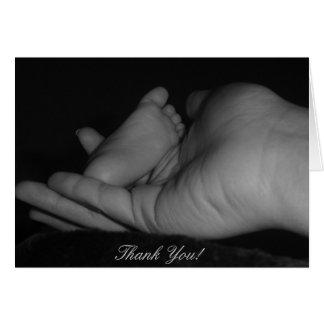 Baby danken Ihnen! Grußkarte