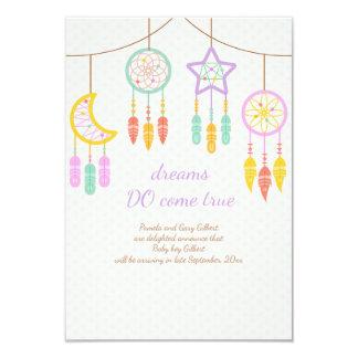 Baby Dreamcatcher Schwangerschafts-Mitteilung 8,9 X 12,7 Cm Einladungskarte
