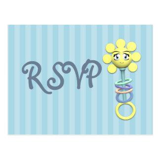 Baby-Dusche UAWG Sonnenschein-Geklapper-Postkarte Postkarte