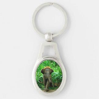 Baby-Elefant Schlüsselanhänger