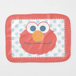 Baby Elmo stellen gegenüber Spucktücher