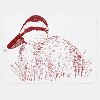 Baby-Ente blankie, das Decken empfängt