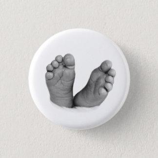 Baby-Fuß-Knopf Runder Button 2,5 Cm