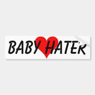 BABY-HASSER AUTOAUFKLEBER