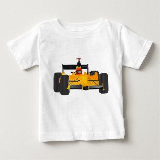 Baby Jersey mit dem Rennwagen grphic auf Front Baby T-shirt