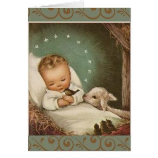 Baby-Jesus-Massen-anbietendenkmal Karte