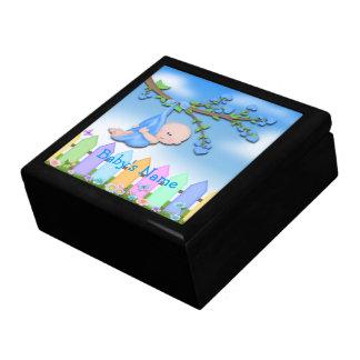 Baby-Junge - Hinterhof-Geschenkboxen/Trinket-Kaste Große Quadratische Schatulle