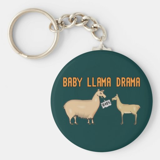 Baby-Lama-Drama Schlüsselbänder