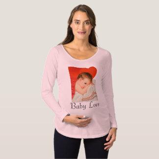 Baby-Liebemutterschafts-Shirt Umstands-T-Shirt