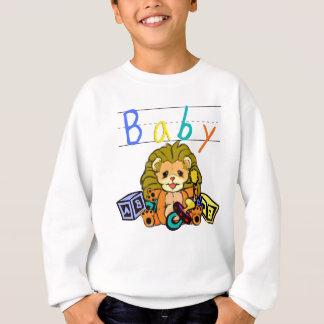 Baby-Löwe-CUB-Spitzen Sweatshirt