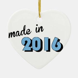 Baby machte im Jahre 2016 Blau Keramik Ornament