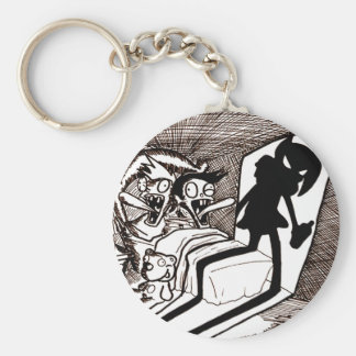 Baby-Modell Alice Keychain Standard Runder Schlüsselanhänger