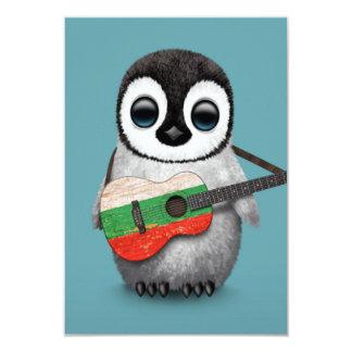 Baby-Pinguin, der bulgarisches 8,9 X 12,7 Cm Einladungskarte