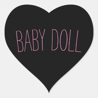 Baby - Puppe Aufkleber