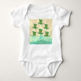 Baby-Schildkröten Baby Strampler