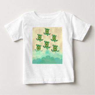 Baby-Schildkröten Baby T-shirt