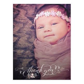 Baby-Schlückchen u. sehen, Ihnen zu danken Postkarte