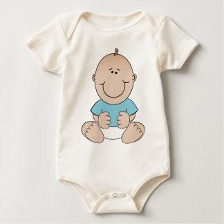 Baby-Sitzen Baby Strampler